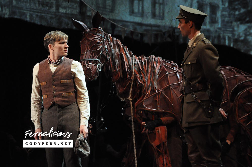 Cody Fern ready for the ride of his life in War Horse